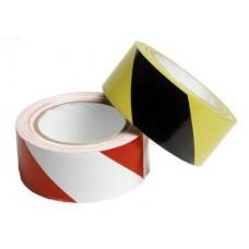 Cinta adhesiva de seguridad blanco/rojo 50mm X 33mts - Le Mark