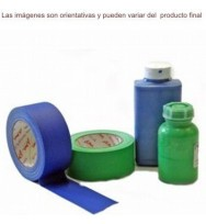Cinta gaffer croma Verde mate 50mm x 50mts Le Mark